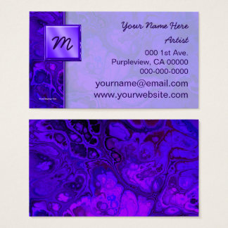 Purple Intensity Abstract