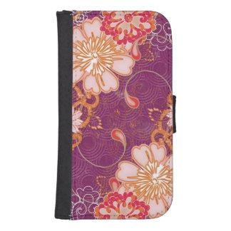Purple iPhone  Samsung Galaxy Wallet Case