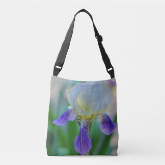 Purple Iris Crossbody Bag