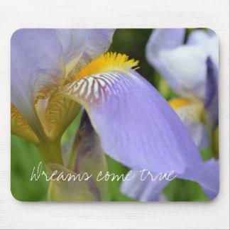Purple Iris-Dreams come true Mouse Pad