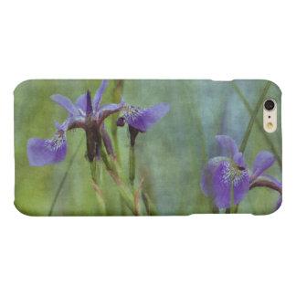Purple Iris Floral Impressionist Art Cases