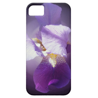 purple iris flower iPhone 5 cases