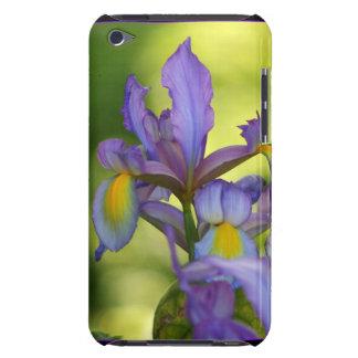 Purple Iris flower iPod Case-Mate Cases