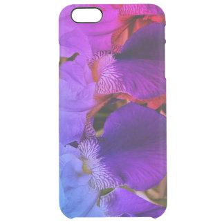 Purple  Iris Flowers Photo Case