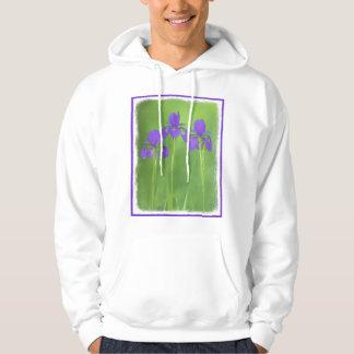 Purple Iris Hoodie
