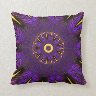 Purple Iris Nouveau Window Pillow Throw Cushions