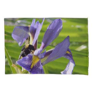 Purple Iris on pillow cases
