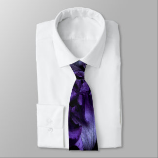 Purple Iris Regular Tie