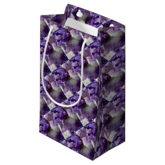 Purple Iris Small Gift Bag