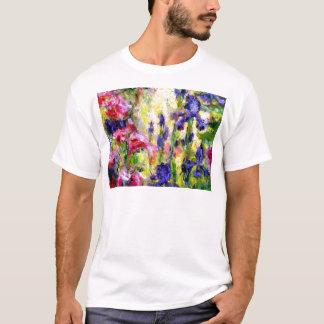 Purple Iris Spring garden Gifts by Sharles T-Shirt