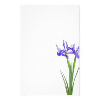 Purple Iris Stationery