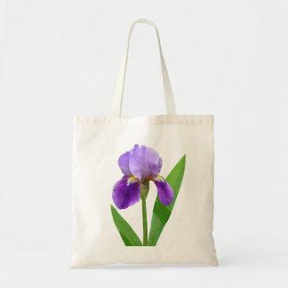 Purple Iris Tote
