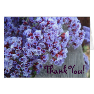Purple Itty-Bitty's Thank You Card
