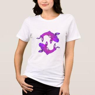 Purple Japanese Koi Fish T-Shirt