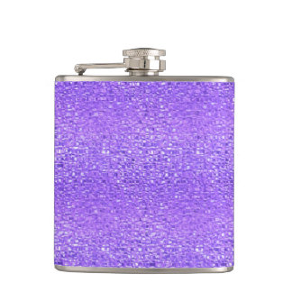 Purple Jewel Hip Flask