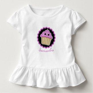 Purple Kawaii Cupcake Toddler Shirt