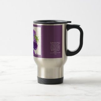 Purple Kentucky Derby Hat Travel Mug