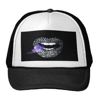 Purple Kisses Cap