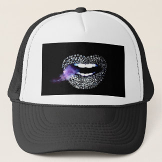 Purple Kisses Trucker Hat
