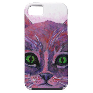 PUrple Kitten Case For The iPhone 5