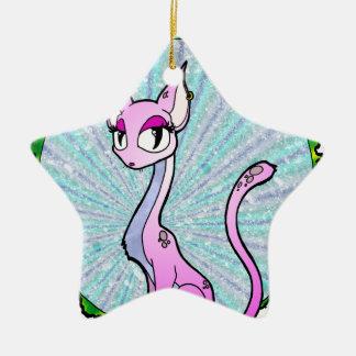 Purple Kitty Christmas Tree Ornaments
