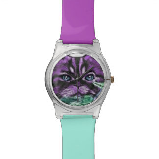 Purple Kitty Watch