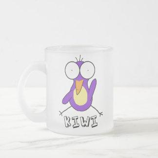 Purple Kiwi Frosted Mug