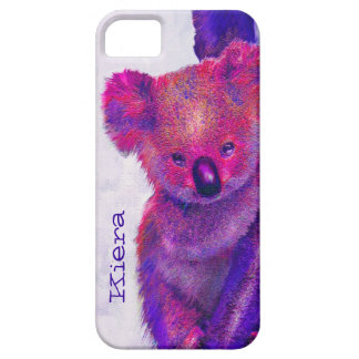 purple koala iphone case