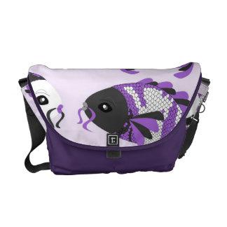 Koi fish bags koi fish tote bags messenger bags more for Koi fish purse