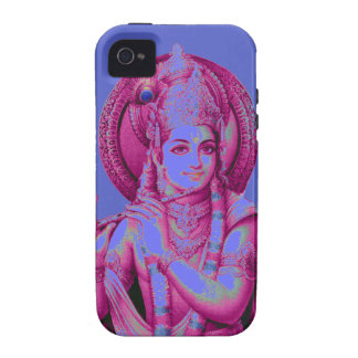 Purple Krishna iPhone 4 4S Tough Cover iPhone 4/4S Covers