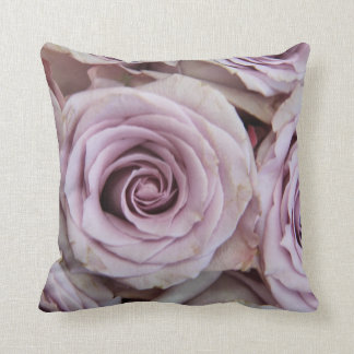 Purple La Vie en Rose pillow