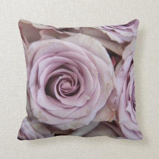 Purple La Vie en Rose pillow Throw Cushions