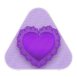 Purple Lace Heart Customizable