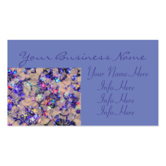 Purple Lace Roses Pack Of Standard Business Cards