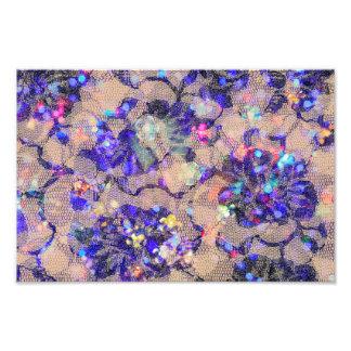 Purple Lace Roses Photo