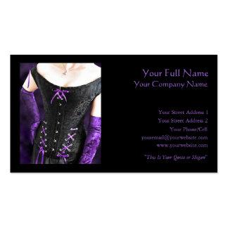 Purple Laces - Business Card