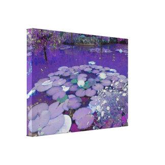 Purple Lake Dreaming Canvas Print