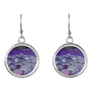 Purple Lake Dreaming Earrings