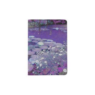 Purple Lake Dreaming Passport Holder