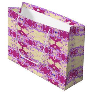 purple large gift bag