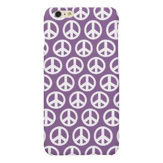 Purple lavendar peace symbol