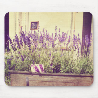 Purple Lavender Flowers Standard Mouse Pad