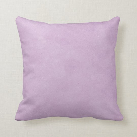 Purple Lavender Watercolor Distressed Vintage Cushion