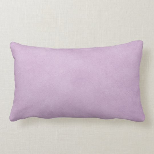 Purple Lavender Watercolor Distressed Vintage Lumbar Cushion