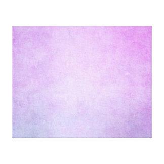 Purple Lavender Watercolor Parchment Background Canvas Print