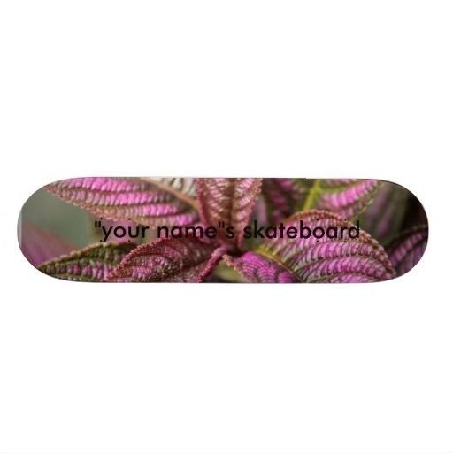 Purple Leaf Skate Decks