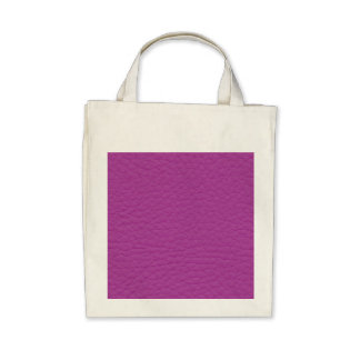 Purple Leather Texture Canvas Bags