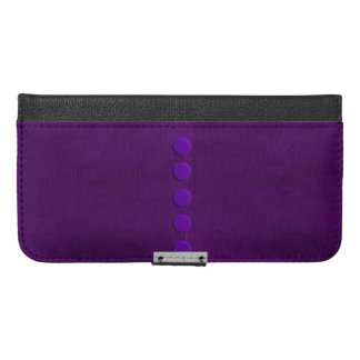 Purple Leather Textured iPhone 6 Case