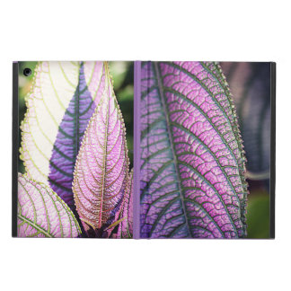 Purple Leaves Cover For iPad Air