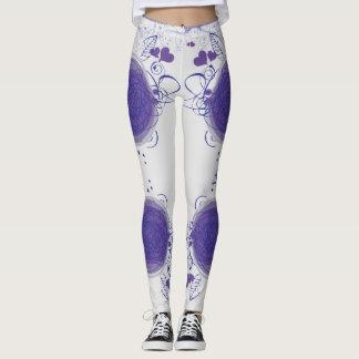 purple legging